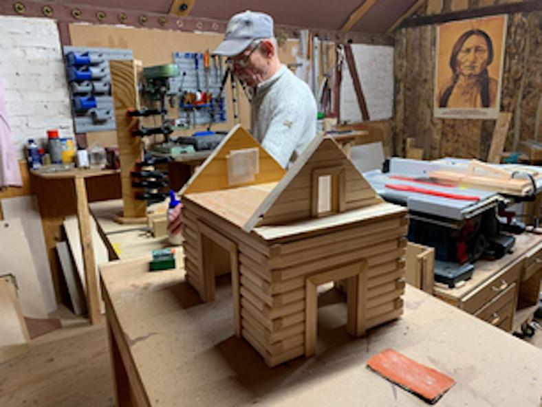 Bau einer Vogelvilla